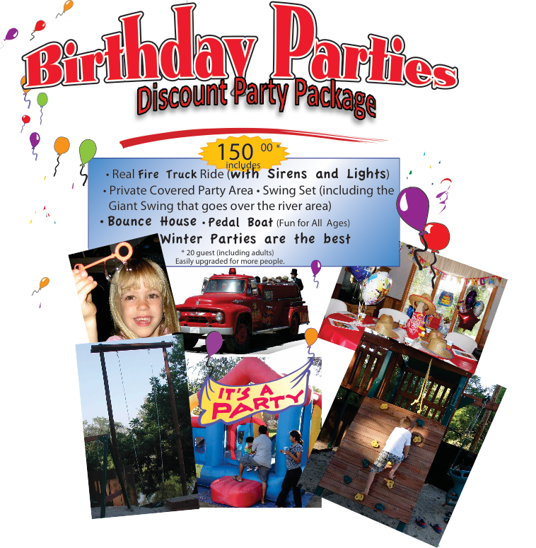 Birthday Party Special Older